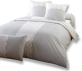dodo ac97763700 parure housse de de couette 240 x 220 cm cm 2 taies 65 x 65 cm coton effani. Black Bedroom Furniture Sets. Home Design Ideas