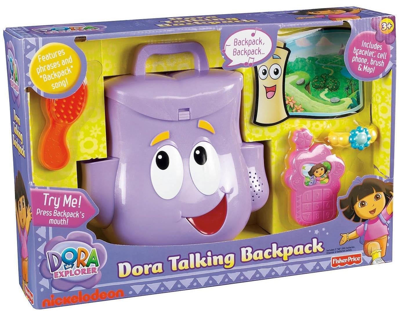 Dora The Explorer Backpack Contents Amazon com Fisher-Price Dora