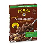 Annie's Organic Cereal, Cocoa Bunnies, Oat, Corn, Rice Cereal, 10.8 oz (Pack of 10)