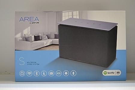 Dyon Multiroom haut-parleur Area S WLAN, Bluetooth®, Kabelgebunden noir