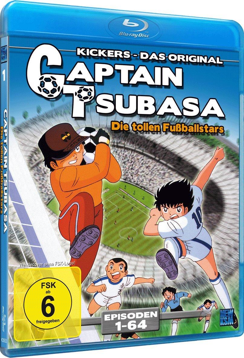 Captain Tsubasa - Die tollen Fußballstars, Blu-ray