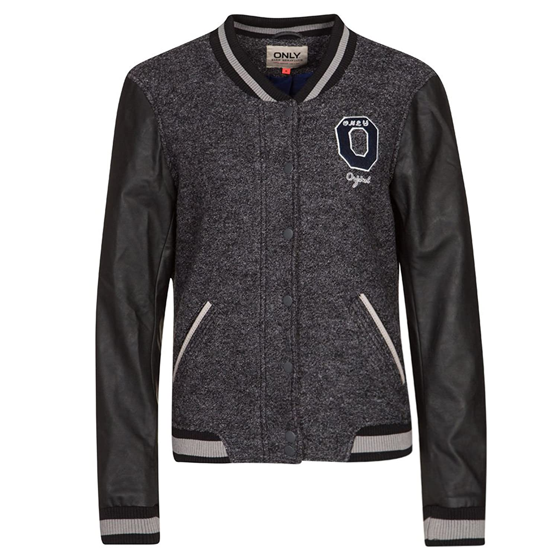 Only Damen NEW CASTLE College Look Jacke jetzt kaufen