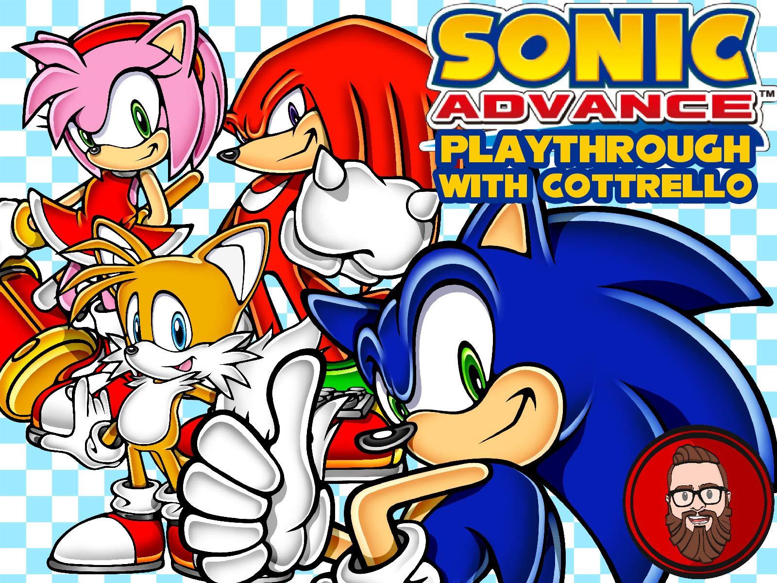 Watch Sonic Advance Playthrough With Cottrello On Amazon Prime Video Uk Newonamzprimeuk