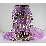 Purple Shawl Hip Dance