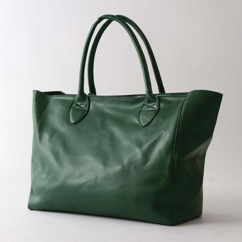 Amazon.co.jp: (スプートニクス) SPUTNICKS レザートートバッグ 男性 メンズ (サイズフリー, グリーン-GREEN): シューズ&バッグ:通販