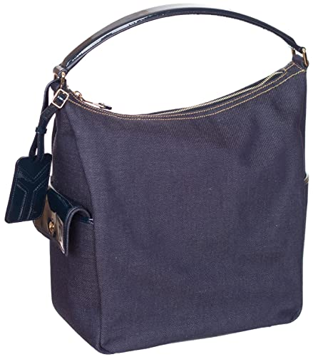 Yves Saint Laurent Women\u0026#39;s Denim Purse Shoulder Bag Hobo: Handbags ...