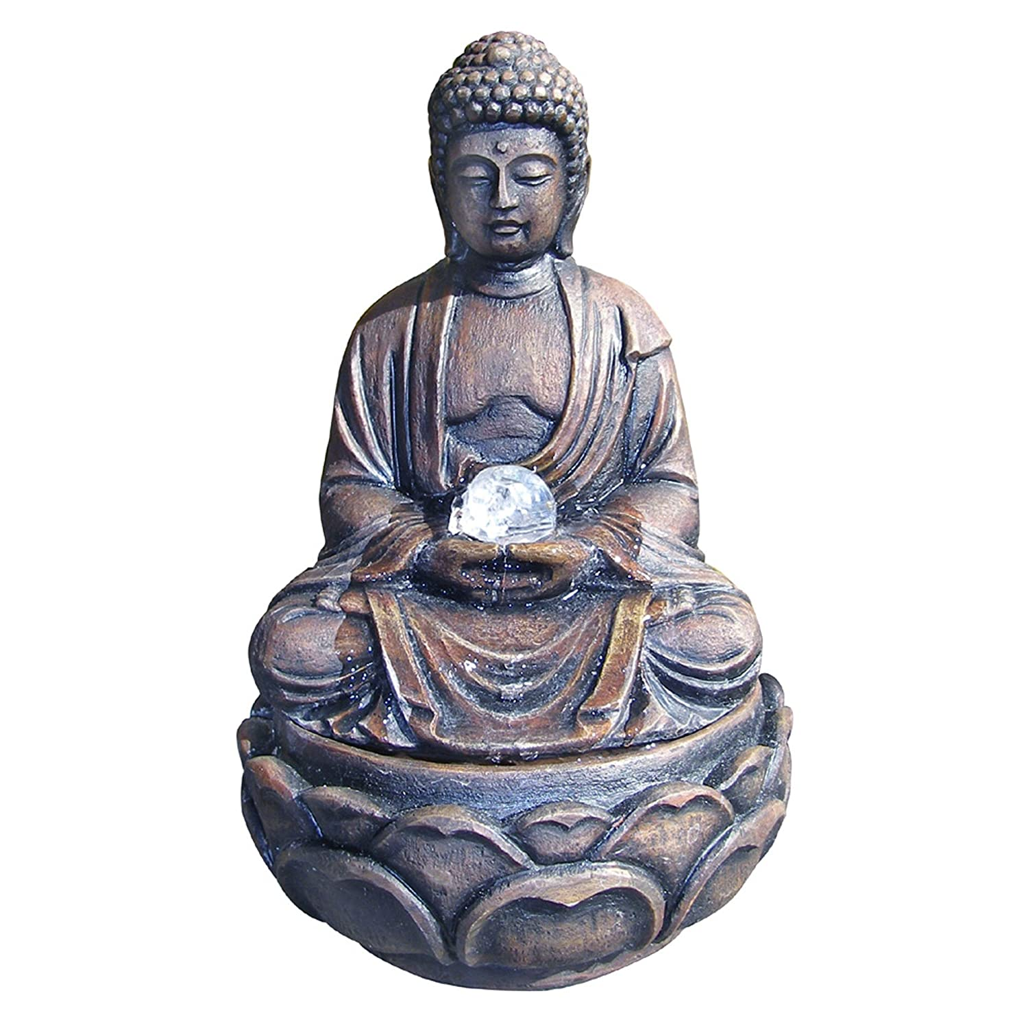 Buddha Fountains: 45 Buddha Fountains: Lotus Meditation Fountains With Peace