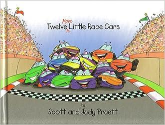 Twelve More Little Race Cars