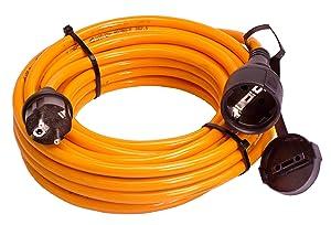 as  Schwabe 59225 BaustellenVerlängerungskabel, 25m H07BQF 3G2,5, orange, IP44 Gewerbe, Baustelle  BaumarktÜberprüfung und Beschreibung