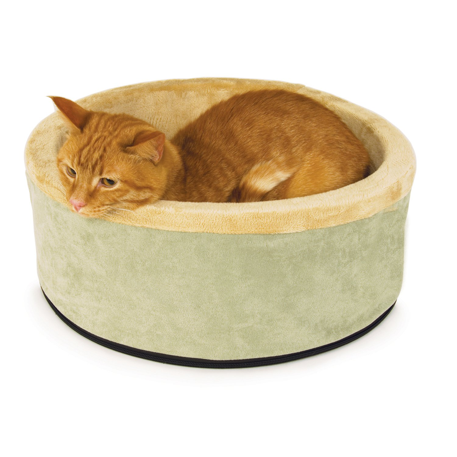 Soft Round Pet Bed for cats and dogs