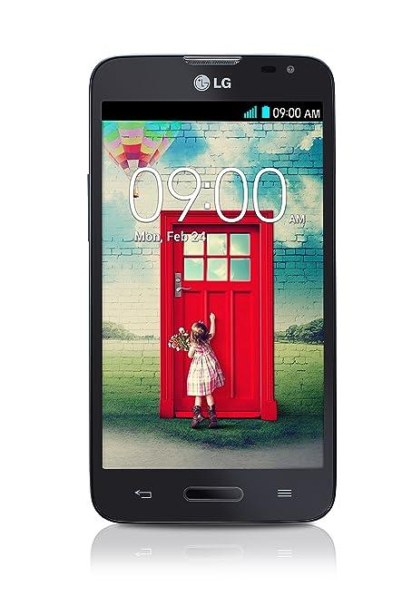 LG D405N L90 Smartphone débloqué 3G+ (Ecran : 4,7 pouces 8 Go Simple SIM Android) Noir