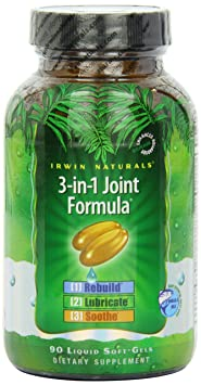 Отзывы Irwin Naturals 3-in-1 Joint Formula (90 Softgels)