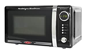 Nostalgia Electrics Retro Series Countertop Microwave Oven