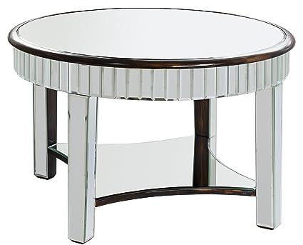 Gallery Direct Riley-Tavolino da caffè, 29,5 x 29,5 x 18 cm, colore: argento