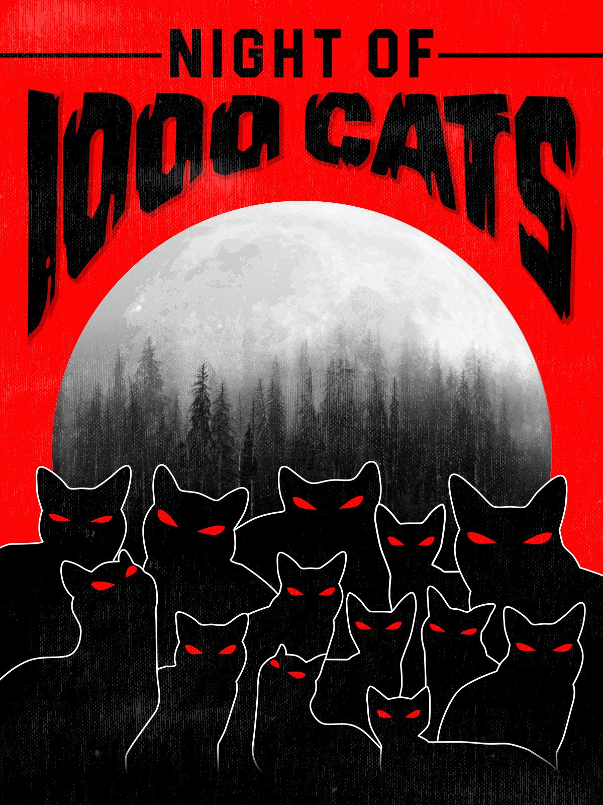Night of 1000 Cats