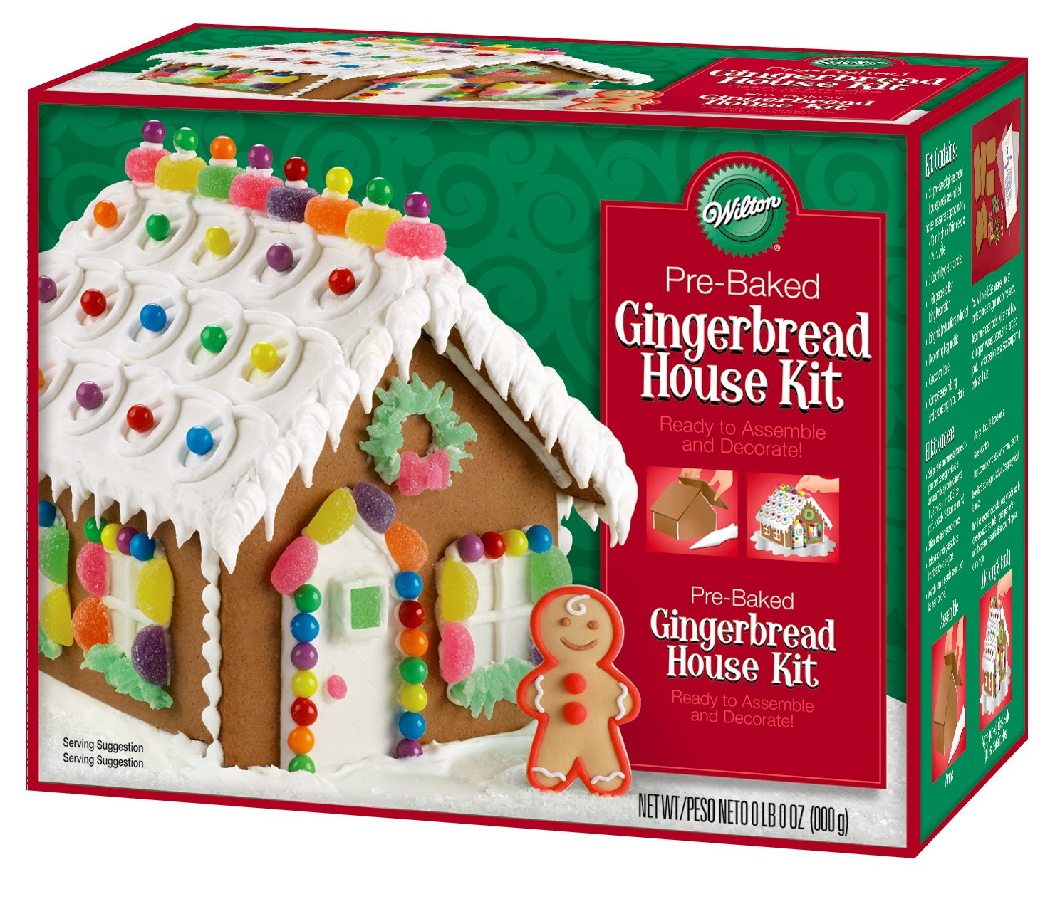 404 squidoo page not found for How do you make a gingerbread house