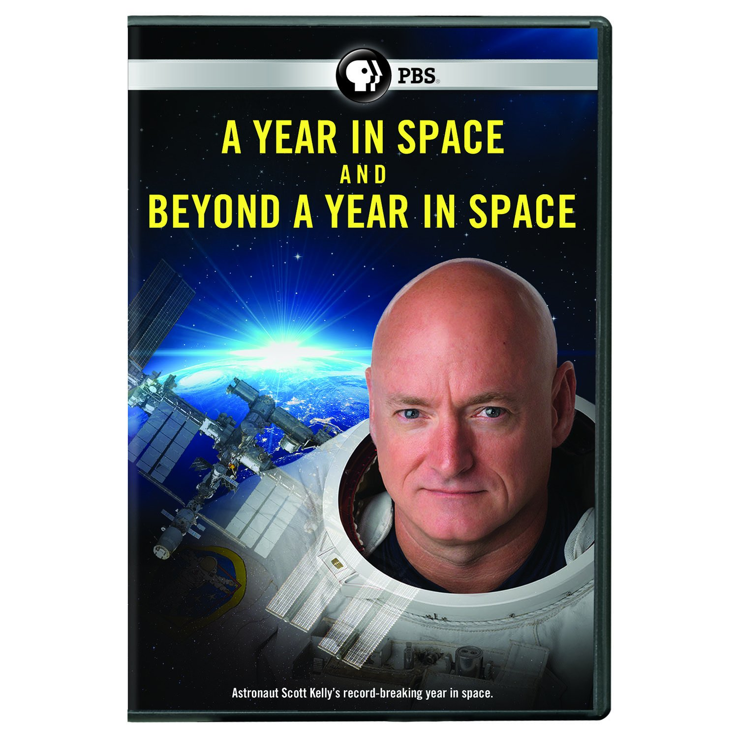 Book Cover: A Year in Space and Beyond a Year in Space DVD