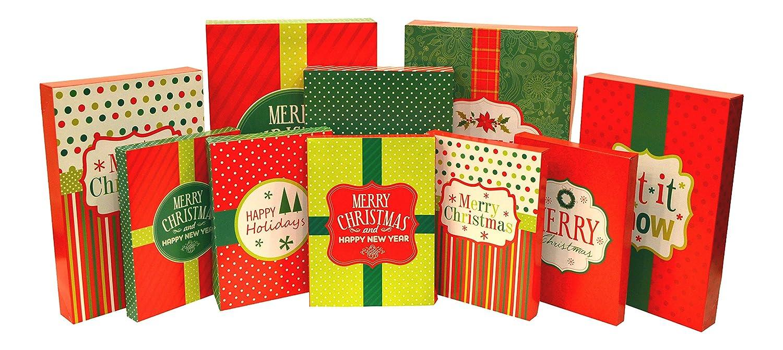 Christmas Gift Box Assortment 10 Box Set
