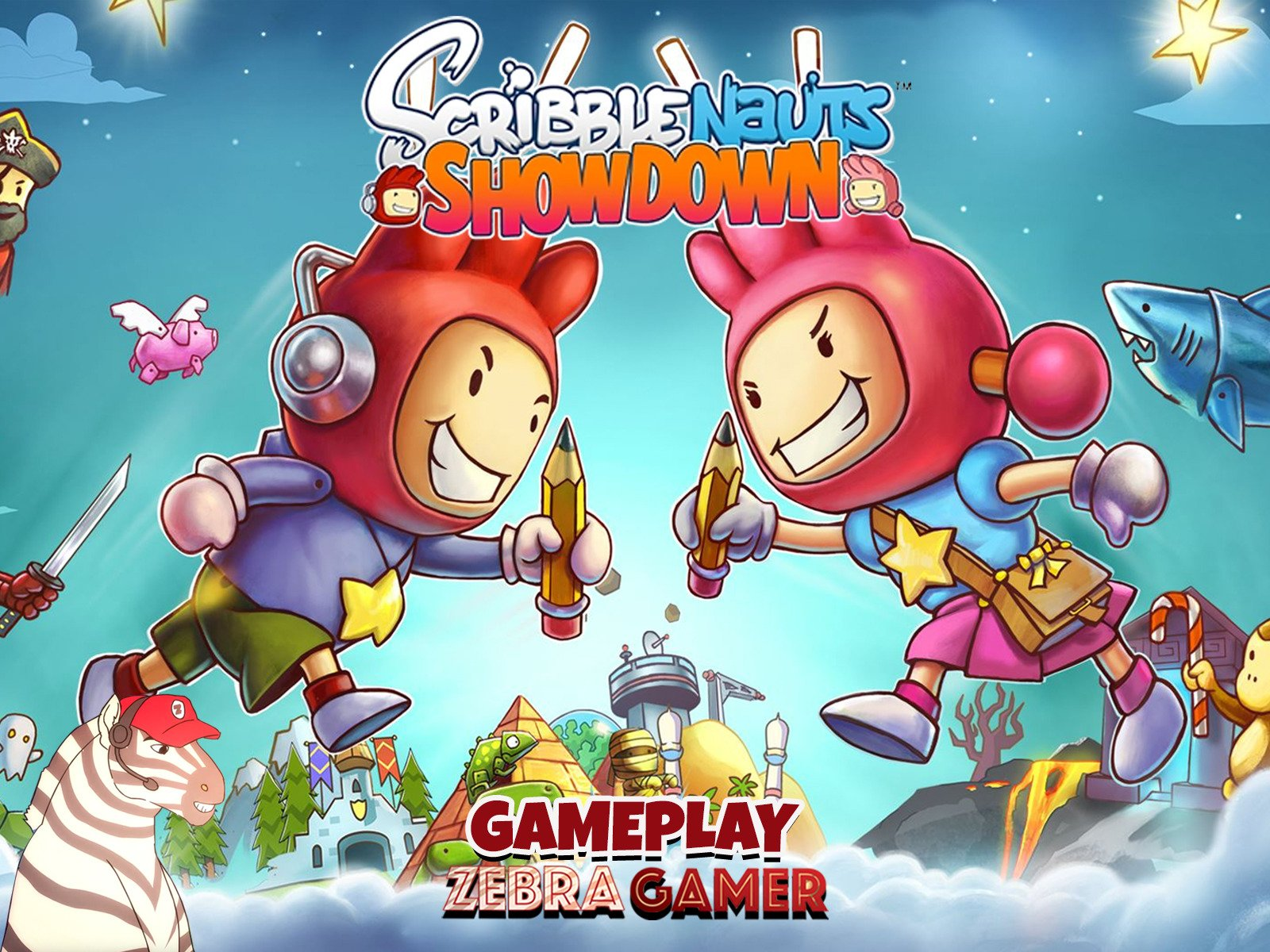 Scribblenauts Showdown Gameplay - Season 1