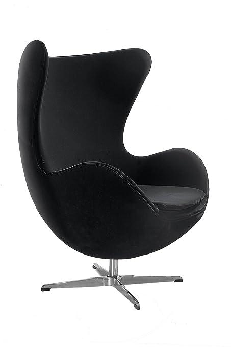 Premier Housewares Velvet Jubilee Chair, 104 x 77 x 72 cm - Black