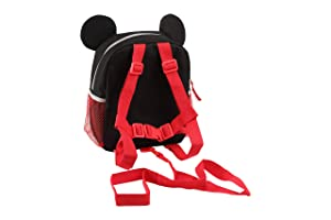 Disney Mickey Mouse Mini Backpack with Safety Harness Straps for Toddlers 901719239a379