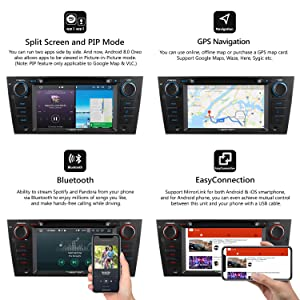 Eonon GA9165A Car Stereo Radio Audio 7'' Android 8 0 Oreo