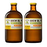 Brew Dr Ginger Turmeric Raw Organic Kombucha (2 bottles)