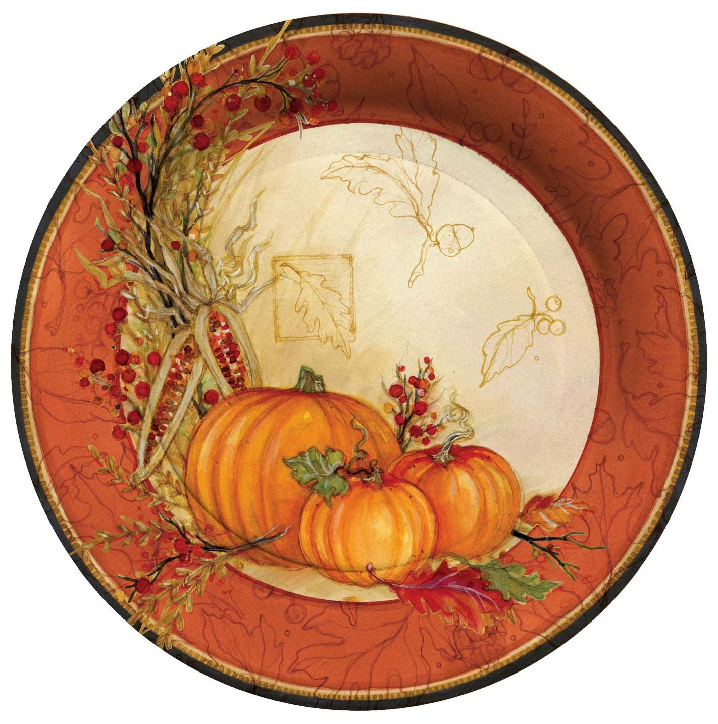 Thanksgiving Paper Plates Thanksgiving Wikii  sc 1 st  Castrophotos & Fall Paper Plates - Castrophotos