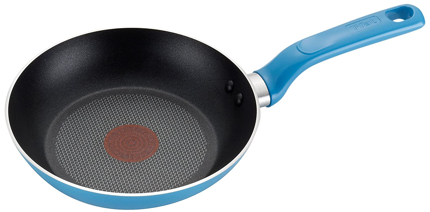 T-fal C96907 Excite Nonstick Thermo-Spot Fry Pan, 11.5-Inch, Blue