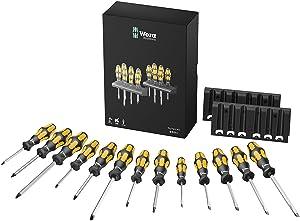 Wera Big Pack 900 Schraubendrehersatz Kraftform  Schraubmeißel und Rack, 15teilig, 05133285001  BaumarktKritiken und weitere Informationen