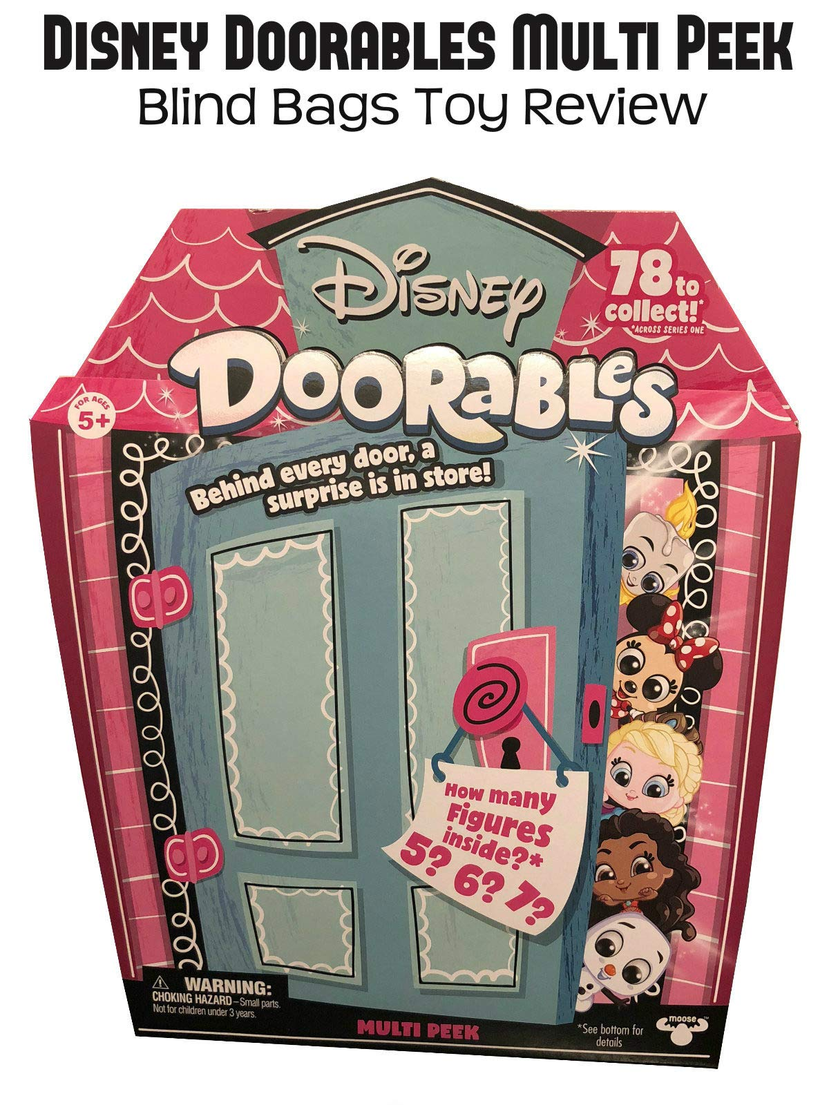 Review: Disney Doorables Multi Peek Blind Bags Toy Review on Amazon Prime Video UK