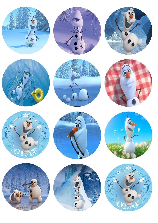 Frozen Cupcake Toppers Birthday Girls Wikii