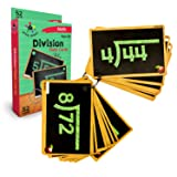 Star Right Education Division Flash Cards, 0-12, 52 Cards, with 1 Ring, for Ages 6 and up (Tamaño: Division Flash Cards)