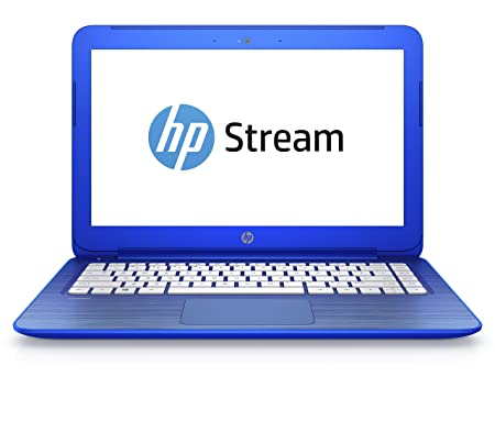 "HP Stream 13-c104nf PC portable 13"" Bleu (Intel Celeron, 2 Go de RAM, SSD 32 Go,Windows 10)"
