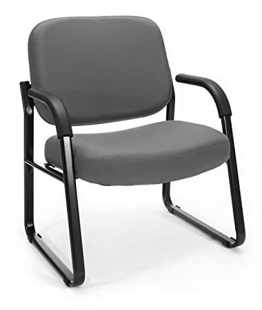 OFM Armchair, Big and Tall, Gray