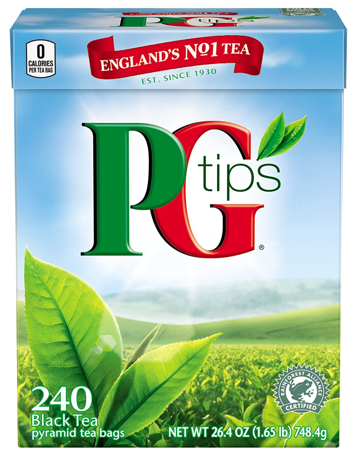 p g tips Pg tips is launching a new tea bag made from 100 per cent biodegradable plant-based materials, replacing its old design that included polypropylene plastic.