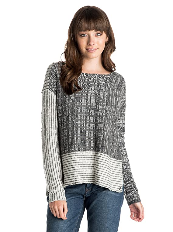 Roxy Women's Truest Blue Cropped Sweater