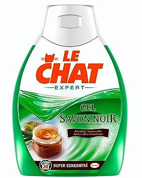 Le chat expert expert gel super concentre savon noir flacon 0 925 l 28 lavages - Savon noir pucerons dosage ...