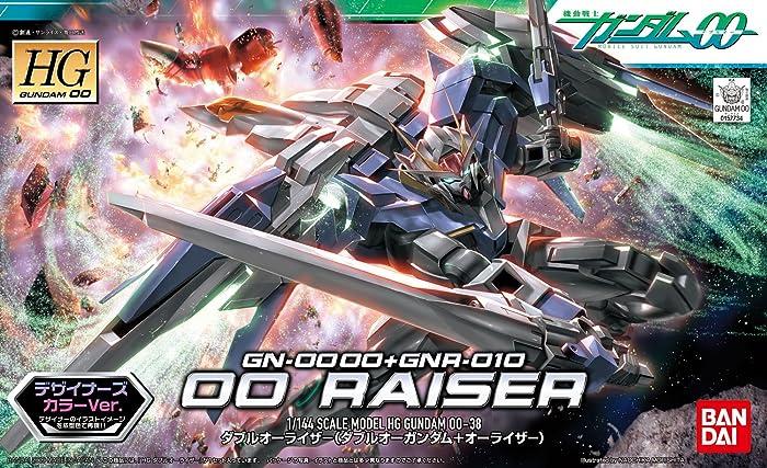 HG GN-0000+GNR-010 00强化模组(00高达+0强化战机)(1:144 设计师配色)