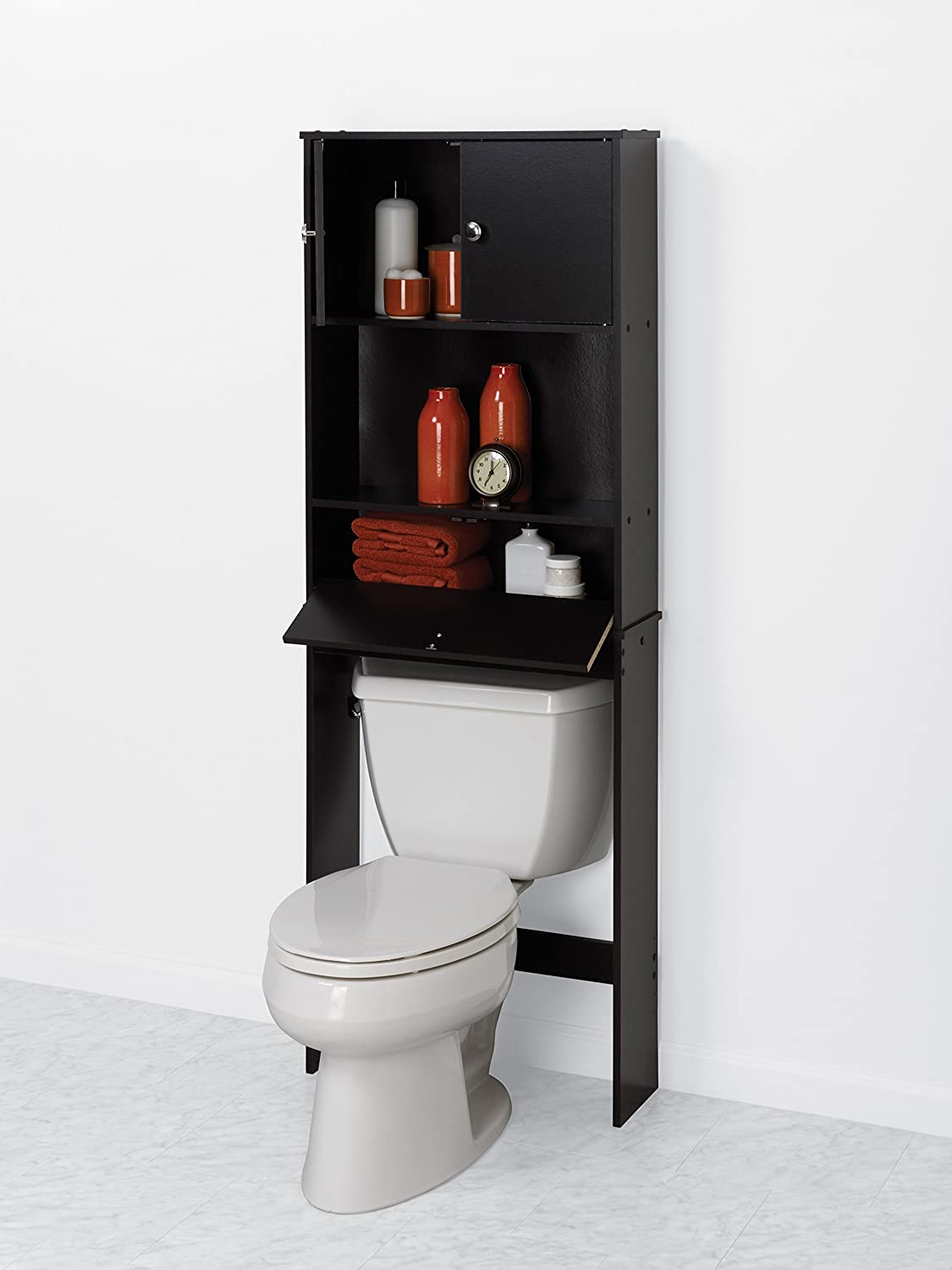 Brilliant Details About SLIM SPACESAVING ROLLING BATHROOM STORAGE ORGANIZER