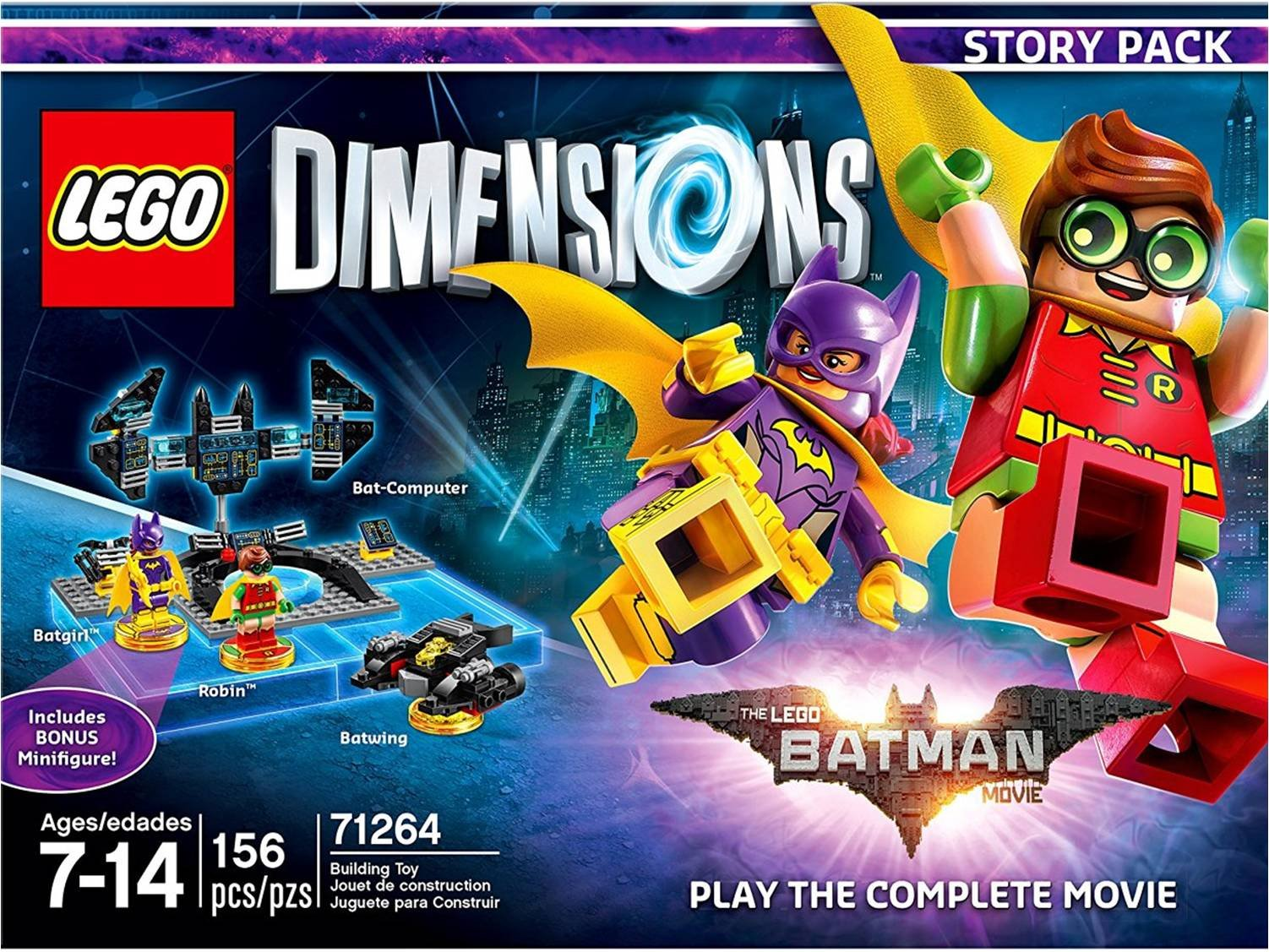 Lego Dimensions Batman Story Pack