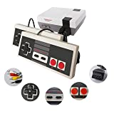 THLAN NES Classic Mini Game Console with 2 Controllers and Built-in 620 Games, AV Output Video Games for Kids, Children Gift, Birthday Gift Happy Childhood Memories