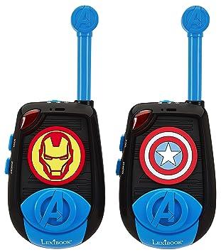 Lexibook - TW25AV-Talkie-walkie 3D Avengers