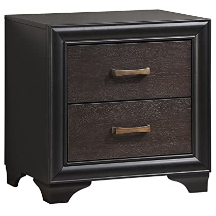 LexMod Madison Nightstand, Brown