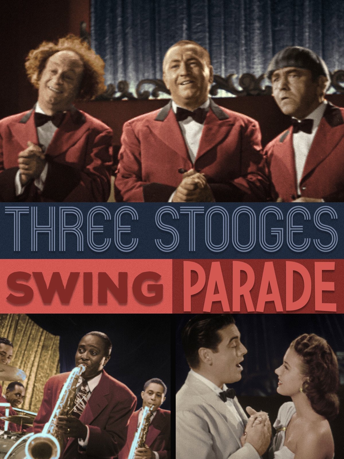 Three Stooges in Swing Parade