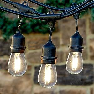 Brightech ambience pro led s14 2 watt dimmable bulb equal to 20 brightech ambience pro led s14 2 watt dimmable bulb equal to 20 25w incandescent bulbs outdoor string aloadofball Gallery