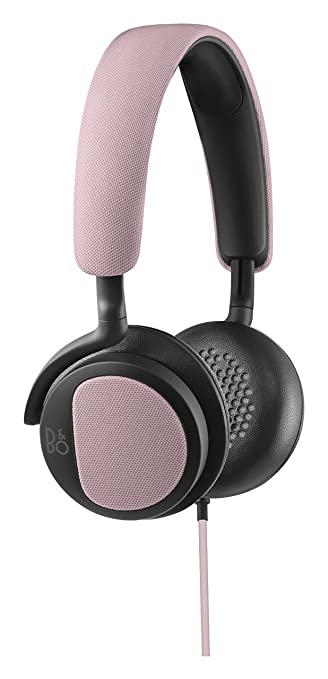 B&O PLAY by Bang & Olufsen BO1642305 Casque Audio H2 Ultra-flexible Avec Microphone et Commande - Rose
