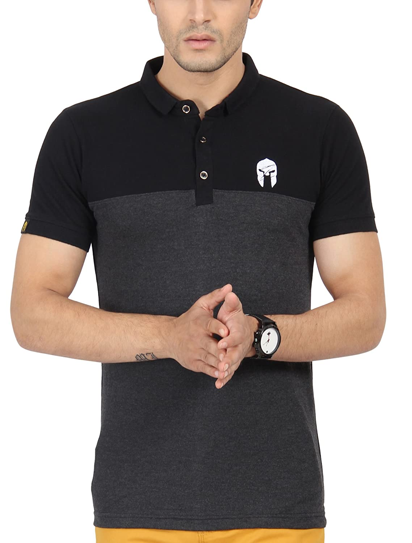 Zsolt Half sleeve Men's cotton Polo T-shirt By Amazon @ Rs.390