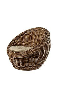 coussin pour chaise ronde en rotin