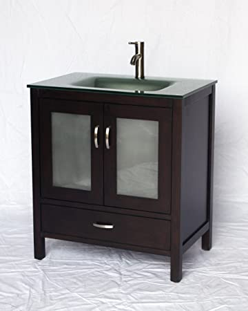"32"" Contemporary Style Single Sink Bathroom Vanity Model 2404-637ES"